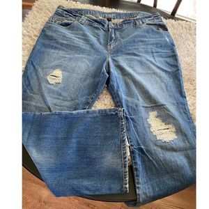 Lane Bryant Distressed Jeans Size 24